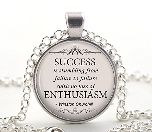 winston-churchill-quote-necklace-success-enthusiam-pendant-motivational-jewellery-gift-for-women-and