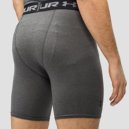 Under Armour Heatgear Compression Herren Fitness - Hosen & Shorts Grau