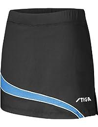 Tenis de mesa ropa: Stiga falda Mercury - negro/Diva azul talla XL
