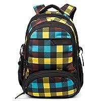 Asge School Backpack Boys School Bag Girls School Bag with Ergonomic Design Backpack Campus Nylon Waterproof daypacks Women