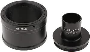 Non Brand 23 2 Mm Mikroskop Adapter Rohr T Ring Für Olympus Panasonic Micro 4 3