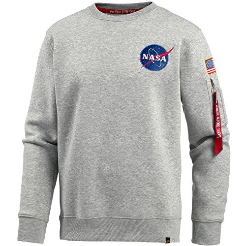 Alpha Industries Space Shuttle Sweater grey hthr