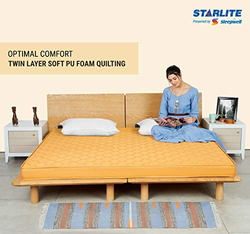 Sleepwell Starlite Select Extra Firm Coir Mattress (75x60x4) Image 4