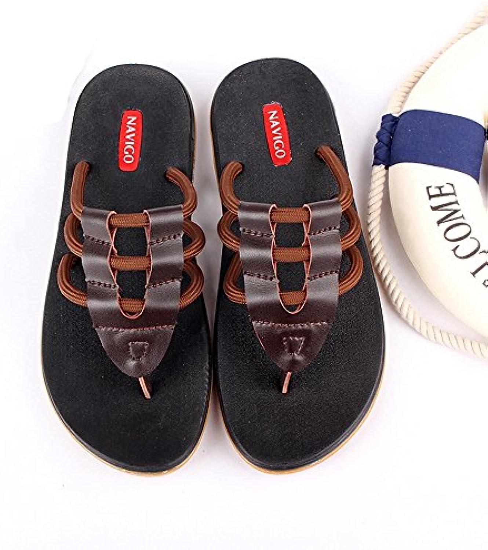 Sommer Herren Hausschuhe rutschfeste Persönlichkeit Strand Schuhe Freizeit männlichen Hausschuhe ( größe : EU40