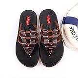 Zapatillas de los hombres del verano antideslizantes Zapatos de playa de la personalidad Ocio zapatillas masculinas ( Tamaño : EU39/UK6/CN39 )