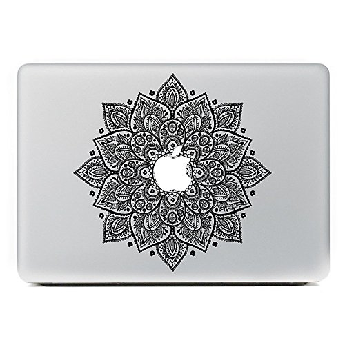 MacBook Aufkleber, Chickwin Creative Pattern dekorativ Film Notebook Sticker Skin personalisierte Aufkleber MacBook Decal (13.3/15.4/17 Zoll) (Rhombus) (17 Los Angeles Notebook)