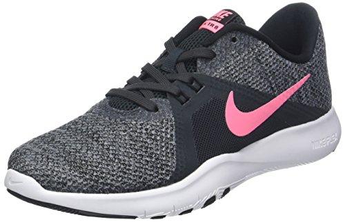 Nike Damen W Flex Trainer 8 Hallenschuhe, Schwarz (Anthracite/Impulsion Couché De Soleil/Noir/Gris Froid 006), 40 EU