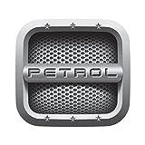 #7: CVANU ( Pack of 2 ) Fuel Reminder PETROL Cars Square Fuel Badge
