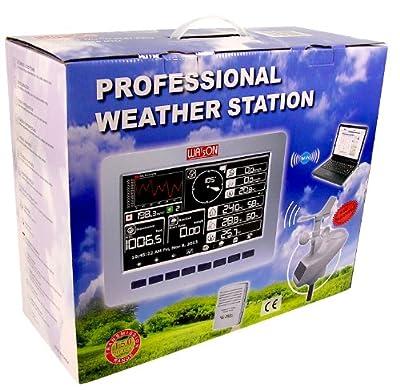 Watson W8681-Pro Professionelle WLAN-Wetterstation mit kabellosen Sensoren von Watson bei Du und dein Garten