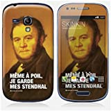 Sticker Samsung Galaxy S3 mini de chez Skinkin - Design original : Stendhal par Fists et Lettres