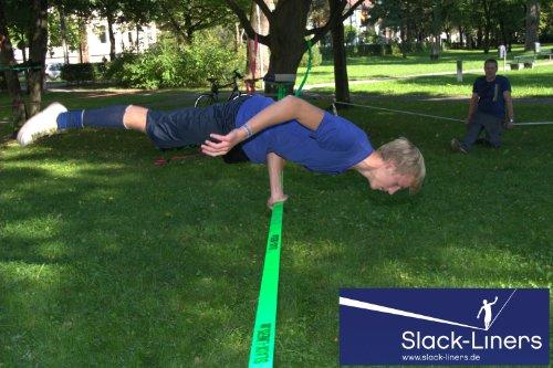 Slack-Liners Set, 15 m lang, 5 cm breit - 6