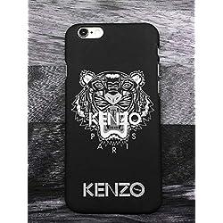 Generic Kenzo iPhone 6 6S Coque, Hard Plastic Phone Housse Coque for iPhone 6 6S Kenzo Paris (Noir)