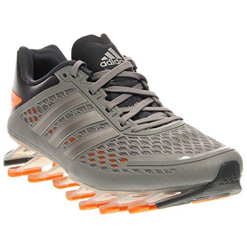Adidas Springblade Razor Boys Running Shoes Size US 4, Regular Width, Color Grey/Orange