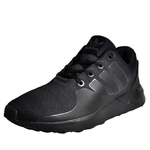 69611eb9836c Adidas Originals ZX Flux ADV Tech Sneaker Uomo Nero Scarpe Ginnastica  Calzature