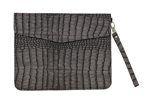 Saco PU Leather Tablet Carrying Sleeve for Milagrow M8 PRO 3G Quad Core Tablet - Grey  available at amazon for Rs.382
