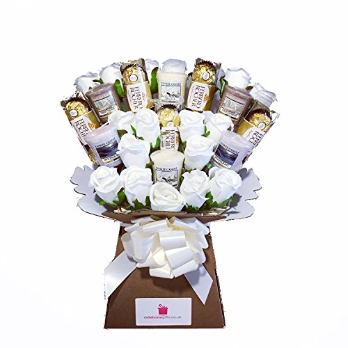 Yankee-Collection-Scented-Candle-Silk-Ivory-Roses-Ferrero-Rocher-Chocolate-Bouquet-Gift-Set