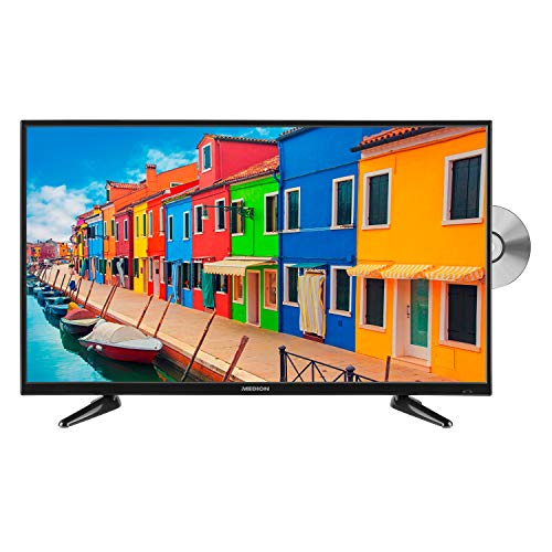 MEDION P14064 100,3 cm (40 Zoll) Full HD Fernseher (Triple Tuner, DVB-T2 HD, integrierter DVD-Player, Mediaplayer, HDMI, CI+, USB)