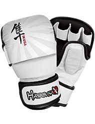 Hayabusa Ikusa Charged 7oz Hybrid Handschuhe–Schwarz