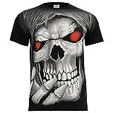 Rock Eagle T-Shirt Rock Chang Heavy Metal Biker Tattoo Rocker Gothic (XXL, 4005)