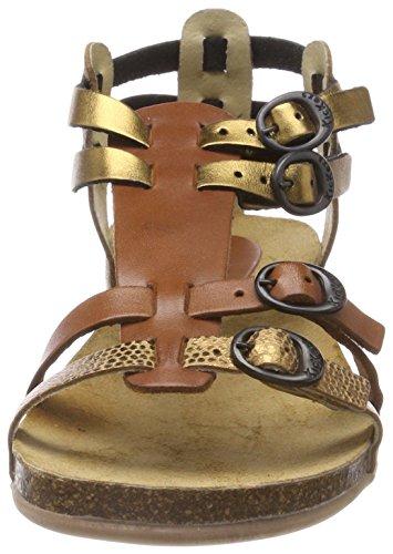 Kickers Ana, Sandales Bride Arriere Femme Marron (Bronze)