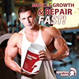 SPARTAN HEALTH PROTEIN POWDER GYM NUTRITION MUSCLE BUILDING HIGH POWER
