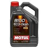 Motul 101545 Huile moteur 8100 Eco-Clean 5W30 5L
