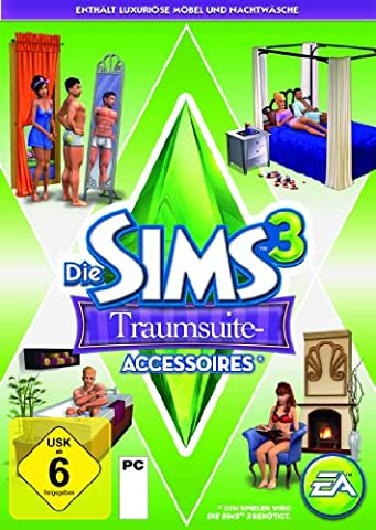 Die Sims 3: Traumsuite-Accessoires Add-on [PC/Mac Online Code] (Pc The Sims 3)