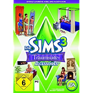 Die Sims 3: Traumsuite Accessoires (Add-On)