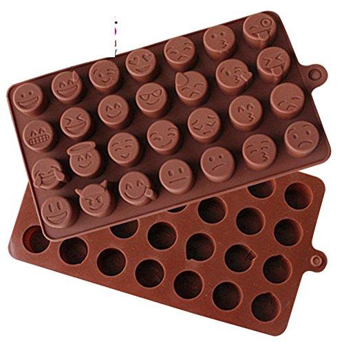 SinCook 28-cavità Qq espressione fai da te per torte, cioccolato, caramelle Foxnovo-Stampi in Silicone per ghiaccio