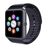 Smart Watches Best Deals - GT08 Bluetooth Smart Phone Watch Montres Téléphone santé avec NFC et la carte SIM Smartwatch Mate Téléphone pour Android (fonctions complètes) Samsung HTC LG et Sony iPhones