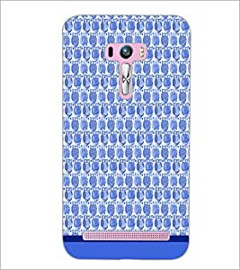 PrintDhaba Owl Pattern D-1685 Back Case Cover for ASUS ZENFONE SELFIE ZD551KL (Multi-Coloured)