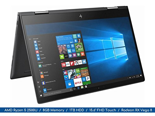 HP Envy x360 T8TJG 2-in-1 15.6-inch FHD Display Flagship Notebook...