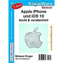 KnowWare Apple iPhone und iOS10 leicht & verständlich