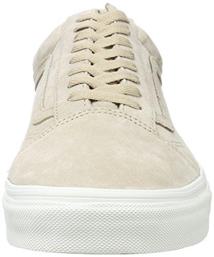 Vans Old Skool, Chaussures de Running Mixte Adulte Beige (Pig Suede)