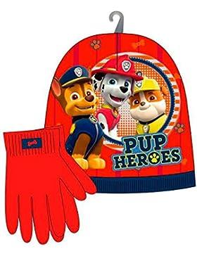 Patrulla Canina - Paw Patrol AST3096. Set 2tlg (Hat + Handschuhe)