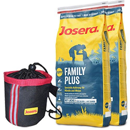 Josera 2 x 15 kg FamilyPlus - Josera Hundefutter Plus Family