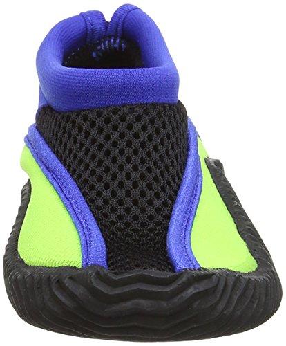 Splash About Chaussures de plage et de piscine-entreprise unique Multicolore - Lime/Royal Blue