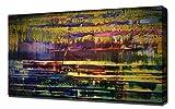 Lilarama Gerhard Richter - Wallace-Bournes- Art Leinwandbild - Kunstdrucke - Gemälde Wandbilder