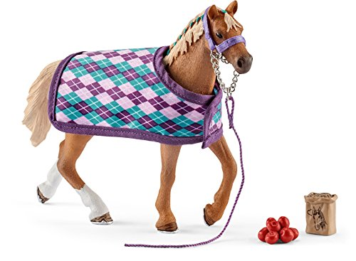 51 aJlM67QL BEST BUY UK #1Horse Club 42360 Schleich English Thoroughbred Figure with Blanket price Reviews uk