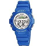 Kinder Uhr Sport Outdoor Elektrische Digital Wasserdichte Junge Teen Uhren mit Alarm Stoppuhr Erinnerung Kind Armbanduhr für Alter 4-16 Jungen Mädchen