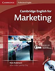 Cambridge English for Marketing Student's Book with Audio CD