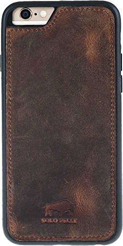 Solo Pelle iPhone 6 Plus / 6S Plus Case Lederhülle Ledertasche Backcover
