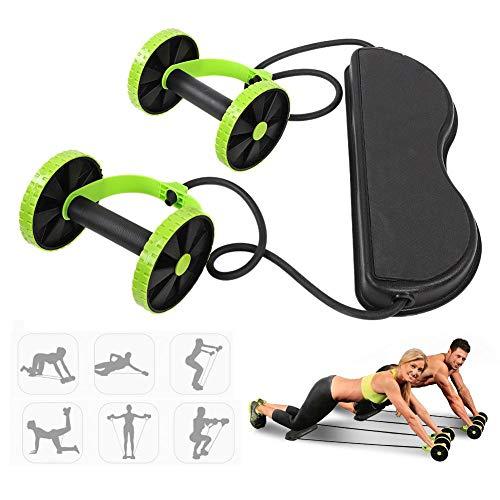 VGEBY1 Ab Roller, Bauchmuskeltraining Workout Machine Fitness System Bauchmuskeltraining Gym Heimfitnessgeräte