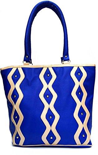 Levent Bags eye catching blue Shoulder Bag (Blue )