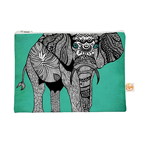 KESS inhouse 12,5x 21,59Pom Graphic Design'Elefante de Namibia Color' todo bolsa