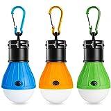 Eletorot Tienda de campaña luces Farol de Camping,linterna led Portátiles LED Lampara de Camping