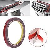 Bhty235, multi-directivité décoratifs Washi Bande 8mm de hauteur Bond 3m ruban adhésif double face Sticky Rouleau adhésif pour réparation de téléphone portable de voiture
