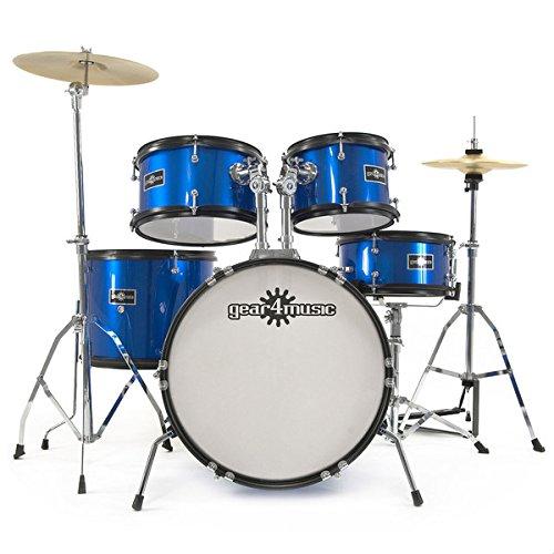 junior-5-piece-drum-kit-by-gear4music-blue