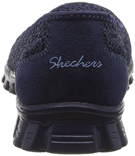 Skechers Ez Flex 2-Flightly, Scarpe da Tennis Donna Blu (nvy)