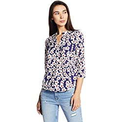 Vero Moda Women's Body Blouse Top (10178638_Navy Blazer_XS)